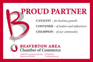 Beaverton Chamber of Commerce Badge