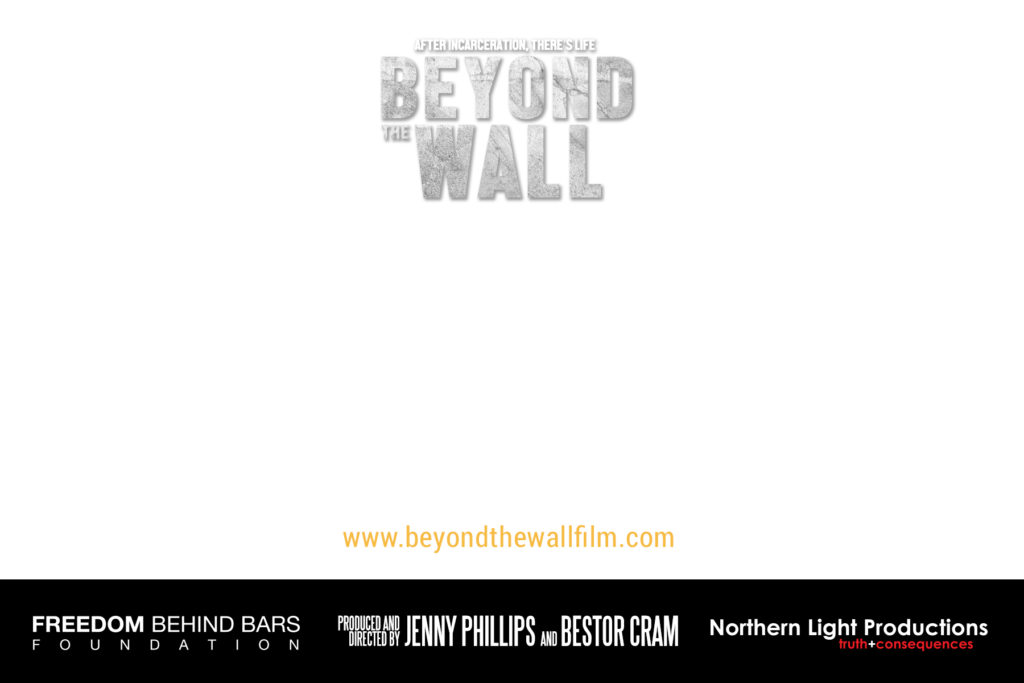 Beyond the Wall Postcard blank