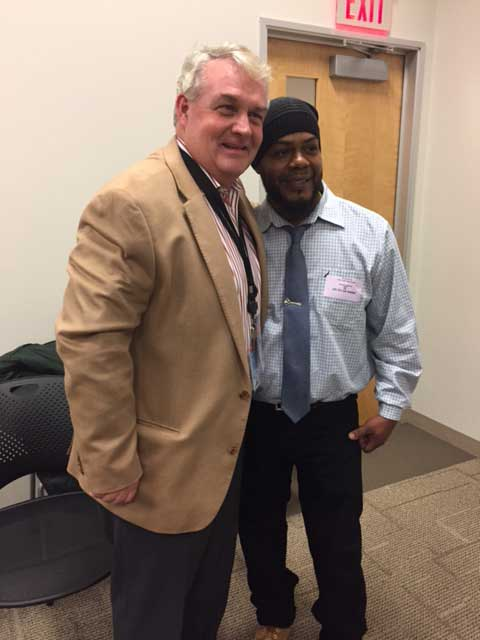 Billy with DOR Commissioner Mike Heffernan