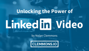 LinkedIn Video - LlinkedIn now allows users to upload native videos into their posts.