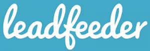 Leadfeeder logo - sales intelligence tools for b2b sales prospecting using web analytics