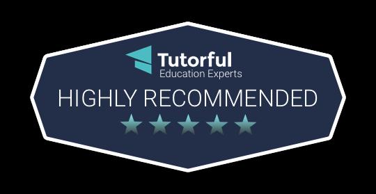 Tutorful Highly recommend educational content tutora.co.uk logo badge