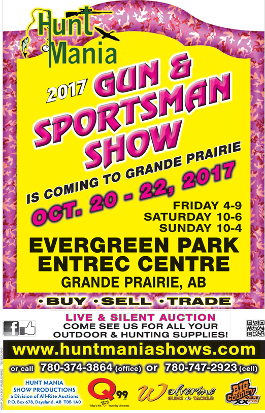 Hunt Mania Gun and Sportsman Show Poster