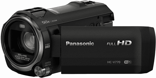 A very good mid-range camera for recording lectures