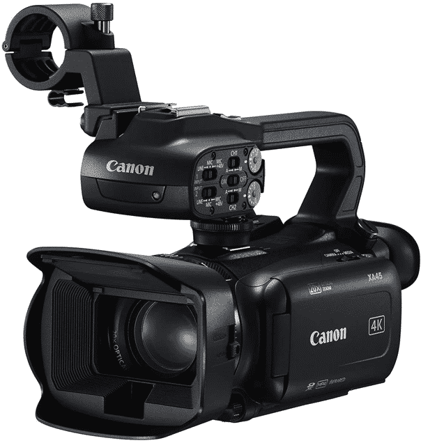Best high-end camera choice for lecture recording. It will satisfy even the most demanding users