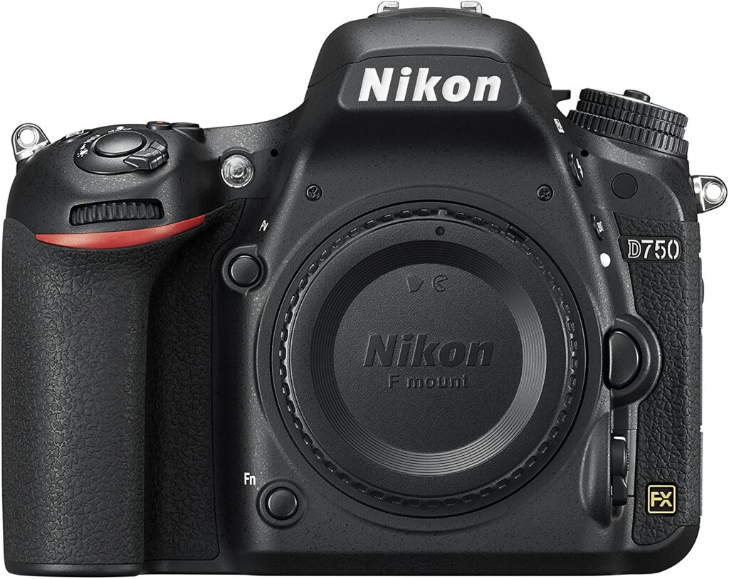 One of the best cameras for model photography Nikon D750