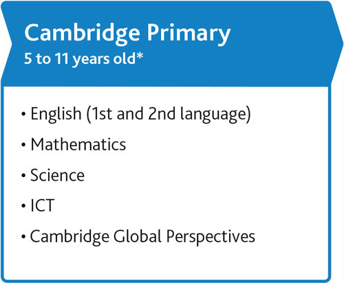 Cambridge Primary