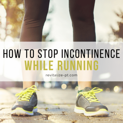 incontinence while running