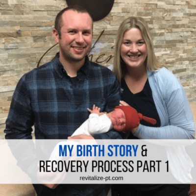 birth story and recovery blog