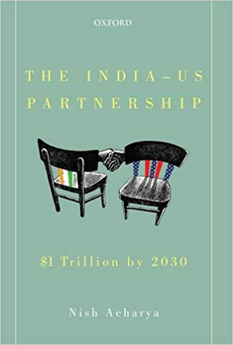 Book Cover fo The India US Partnership