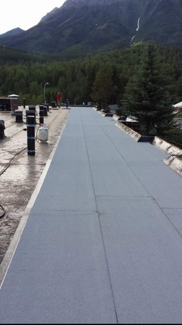 Torch on Roofers Parksville