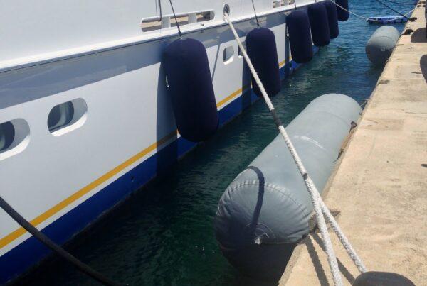 Docking your Mega Yacht at Boathouse Yacht Facility