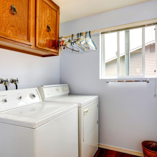 Easy to access laundry rooms for all of your linens to be cleaned and pressed