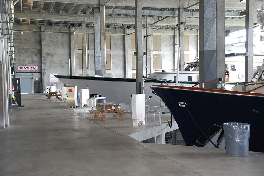 Covered Mega Yacht Storage in Fort Lauderdale