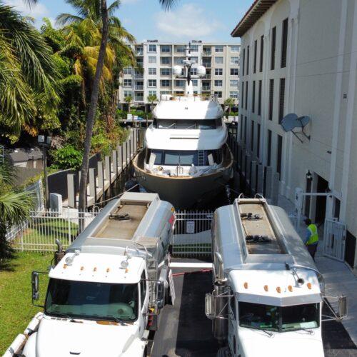 Dockside fuel service for your Mega Yacht