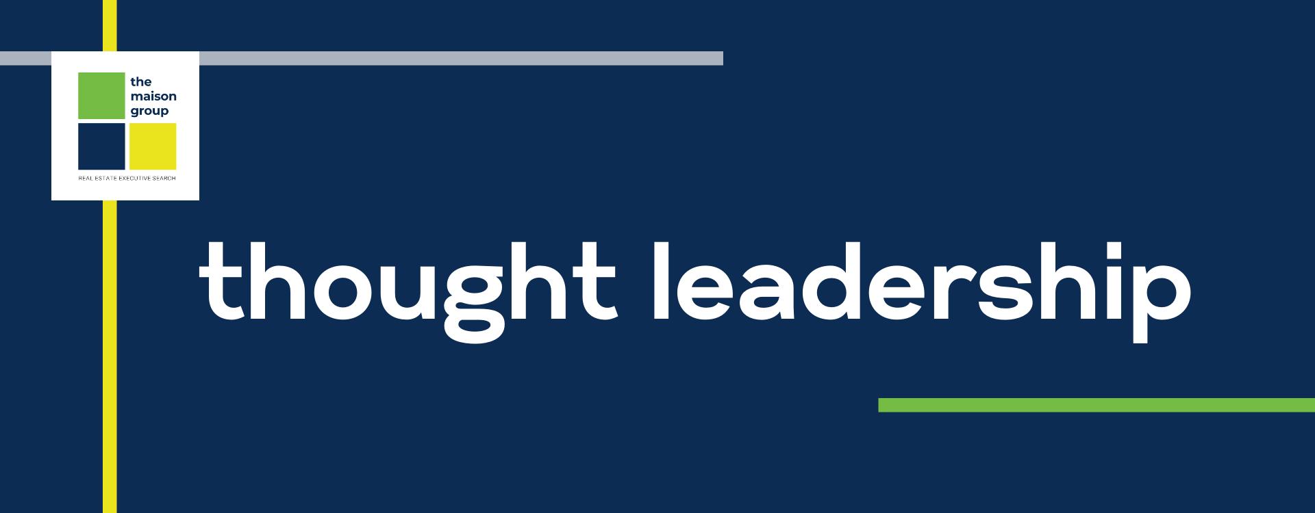 TMG Thought Leadership