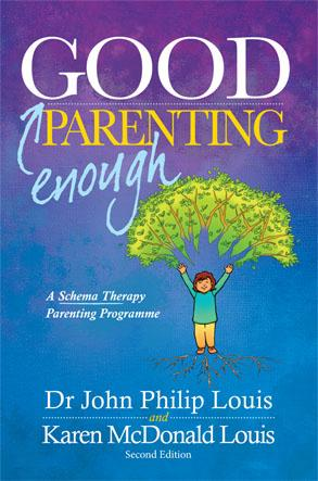 Front cover of the Good Enough Parenting book.