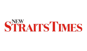 Logo for New Straits Times.