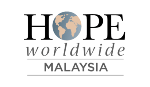 Logo for Hope Worldwide Malaysia.