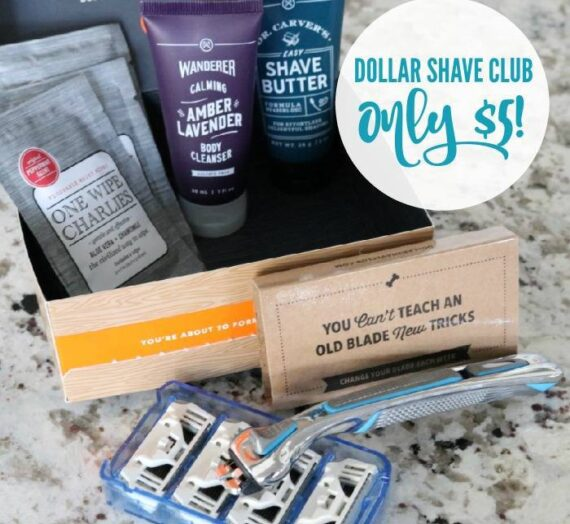 Dollar Shave Club Starter Set only $5 Right Now + FREE Shipping!