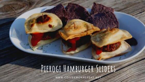 Pierogi Hamburger Sliders