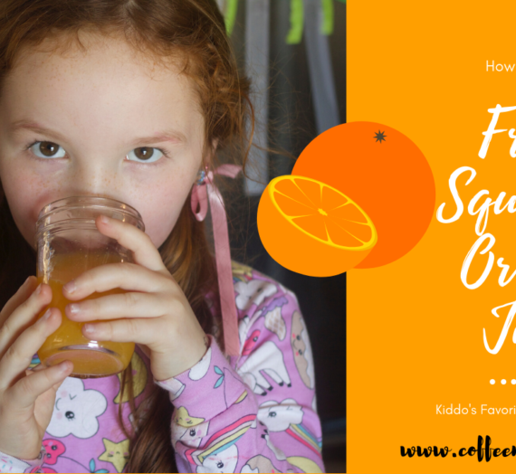 How To For Kids: Fresh Squeezed Orange Juice. Easy! Fun!