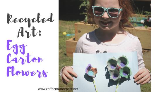 Recycled Art: Egg Carton Flowers