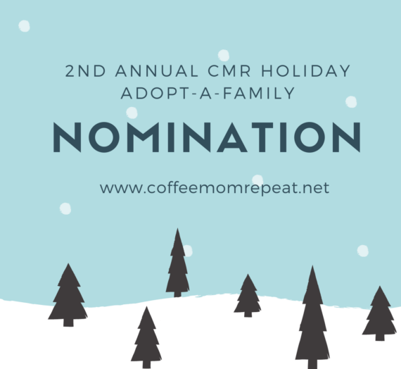 Second Annual CMR Holiday Adopt-A-Family Nominations