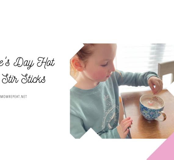 Valentine's Day Hot Cocoa Stir Sticks