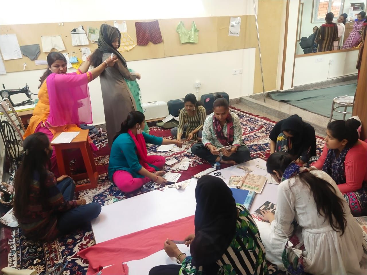 Shanti Devi Mittal foundation - stitching Classes