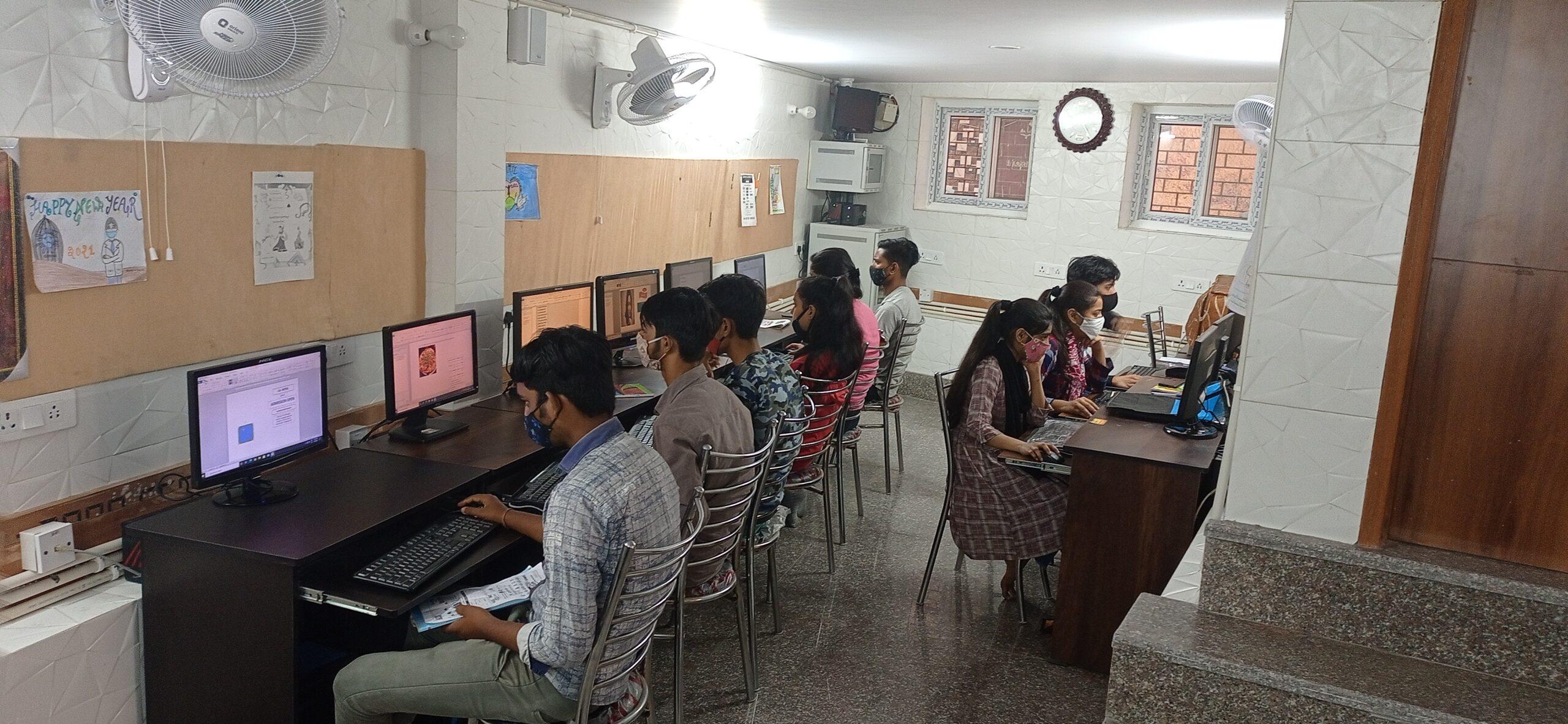 Shanti Devi Mittal foundation - computer class