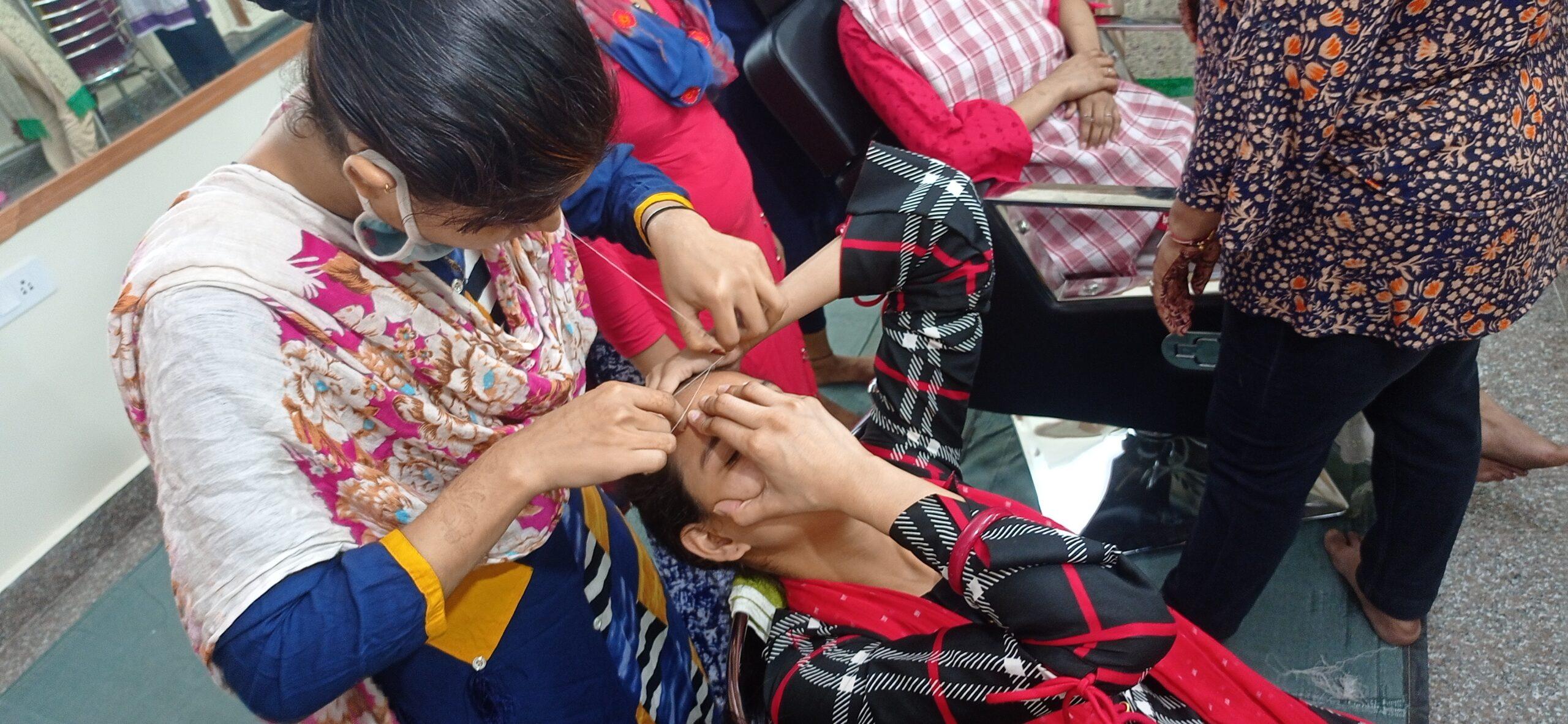 Shanti Devi Mittal foundation - Beauty Classes