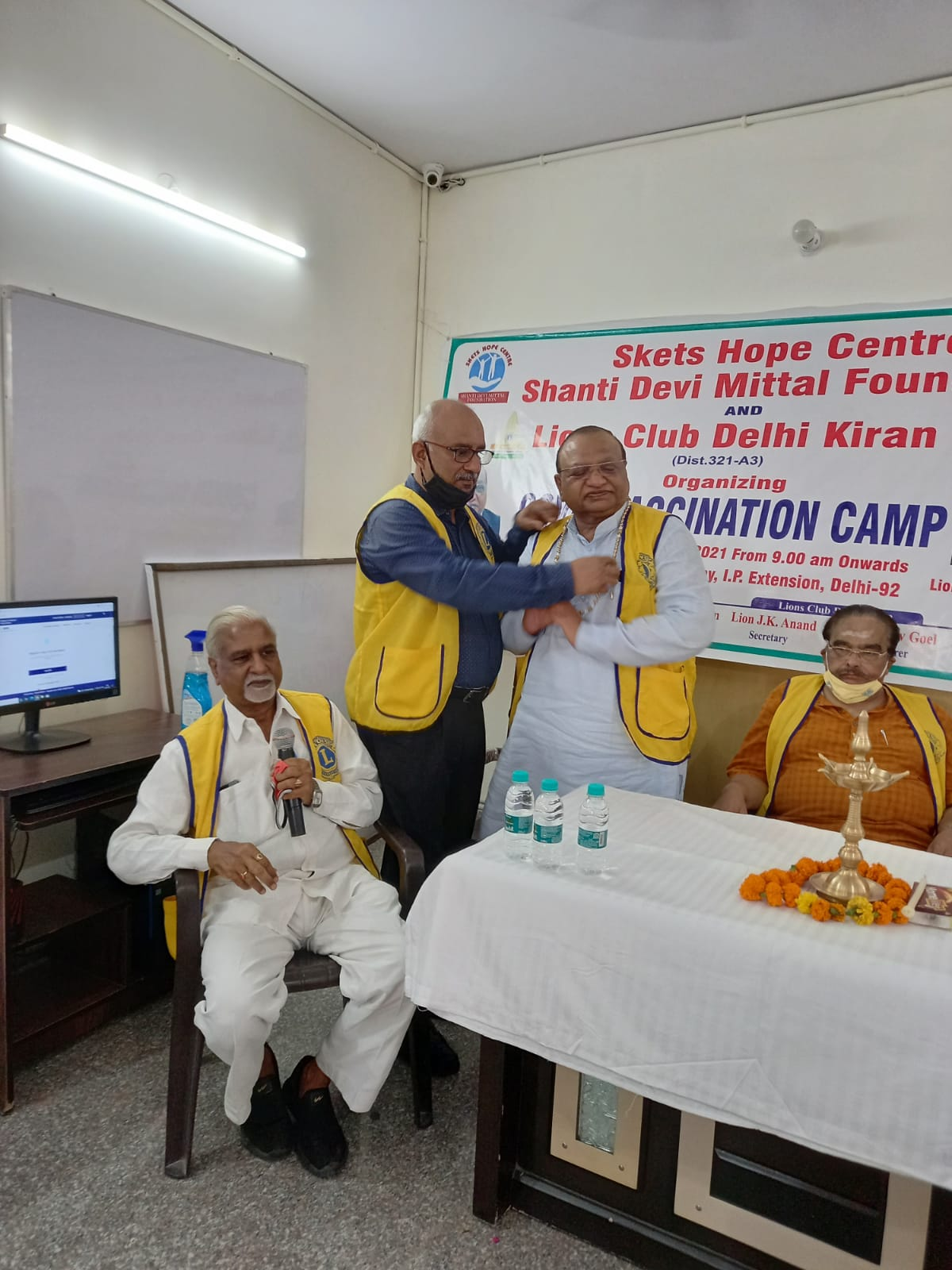 SKETS HOPE CENTRE VACCINATION