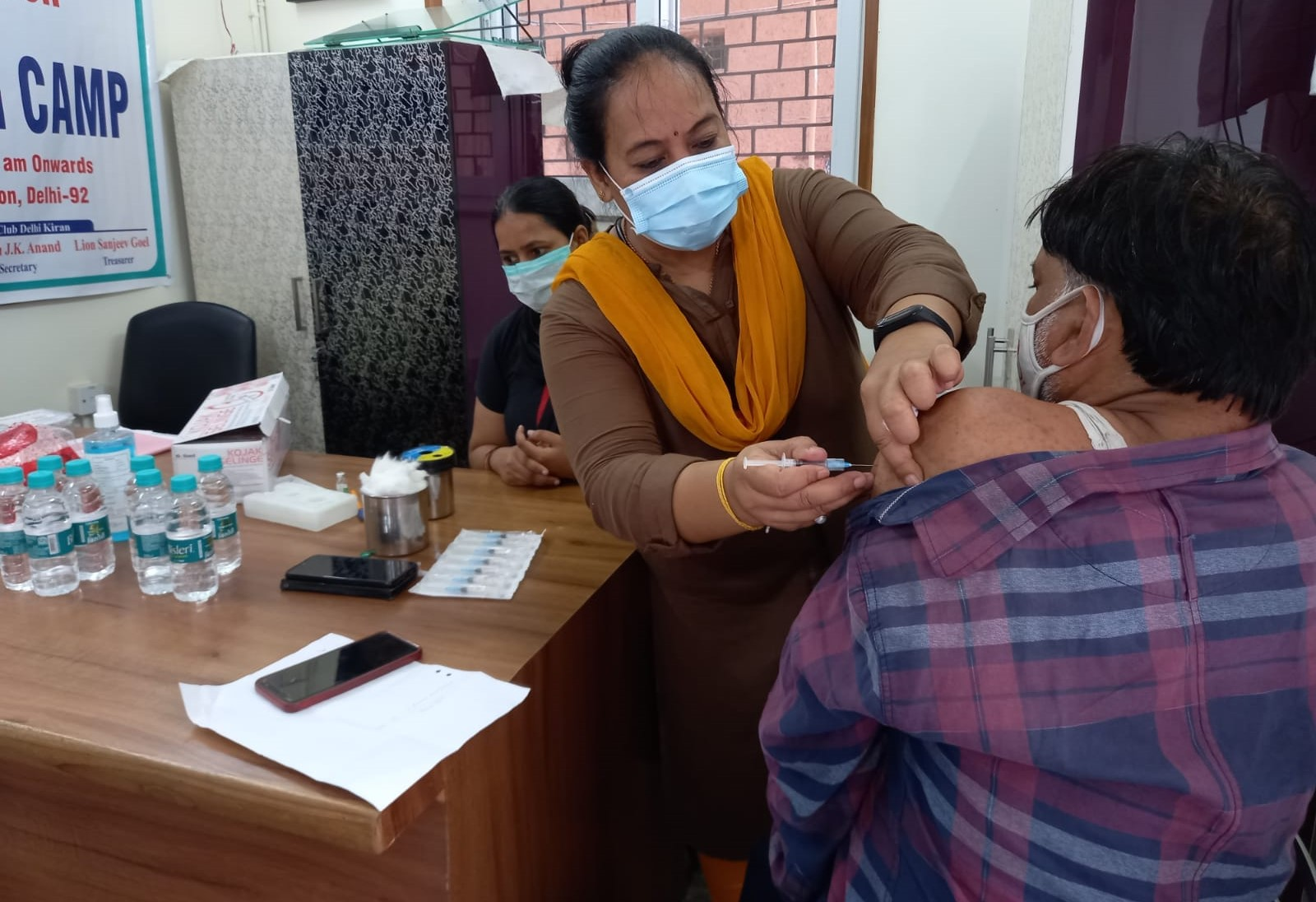 vaccination at SKETS hope centre