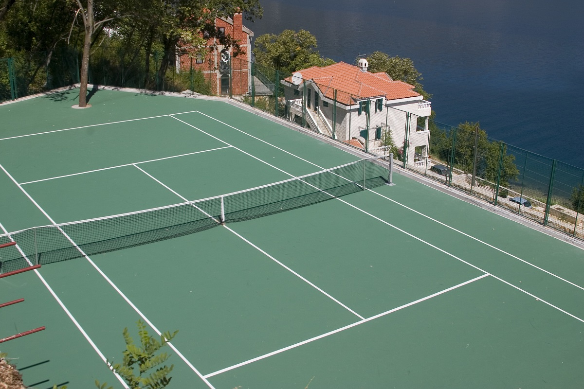 Residential Tennis Court: Does it Add Value to Your Property?