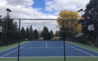 hard tennis courts
