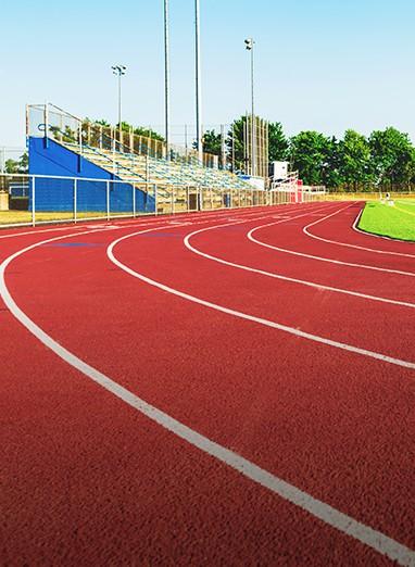 running track court