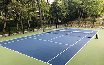 tennis basketball court