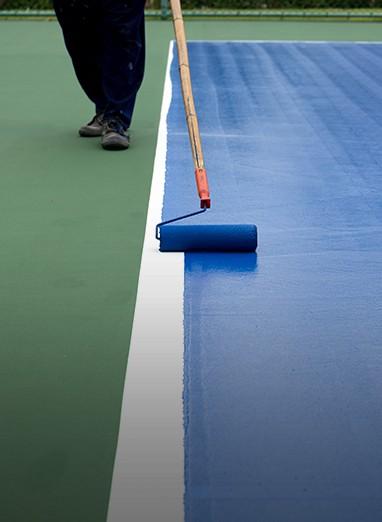 tennis courts installation