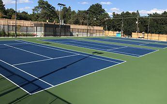 tennis courts ontario
