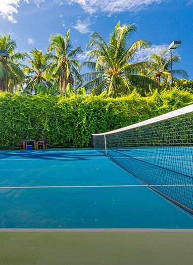 tennis landscape design