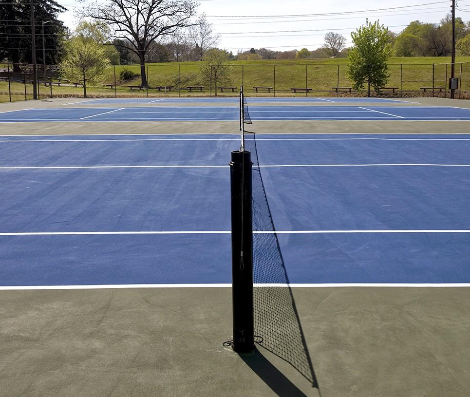 Asphalt Sport courts