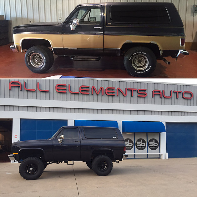 1989 Chevrolet K5 Blazer Build