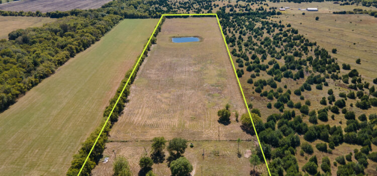 UNDER CONTRACT – DEVELOPMENT OPPORTUNITY:  fantastic Farmersville development opportunity and our newest listing.  Here is a prime 15 acre parcel on CR 656, with NO Deed restrictions, 2 existing water meters and 2 existing electric connections.   This parcel is fenced, cross-fenced and features a big blue sparkling pond.  Asking Price: $449,000.