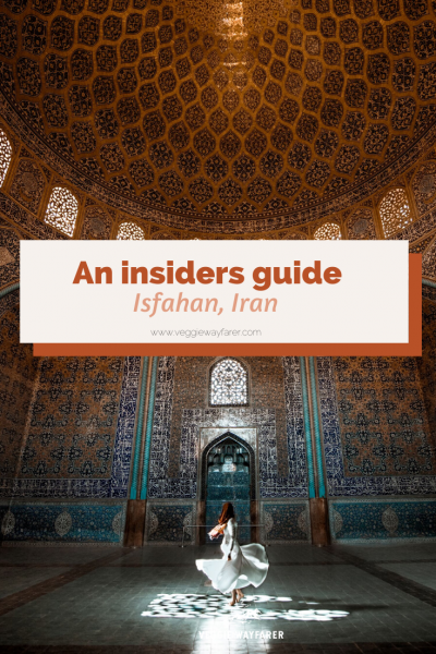 Tourist Attractions in Isfahan, Iran
