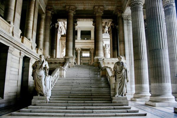 A weekend in Brussels - Royal Courthouse of Brussels