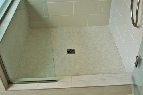 custom shower pan