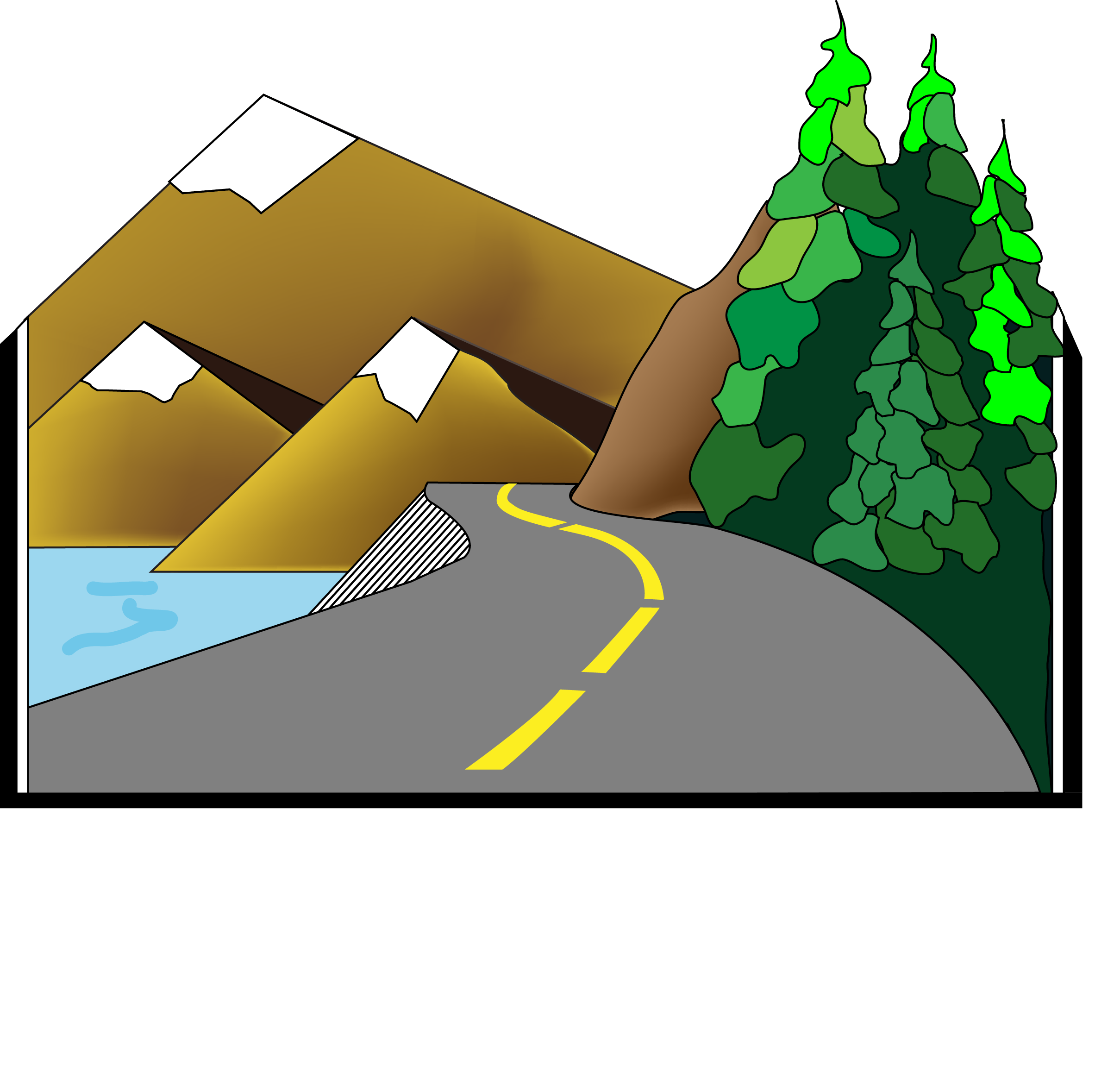 Sterling Highway MP 45-60 Logo White Text