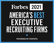 Forbes Best Executive Recruiting Firms logo