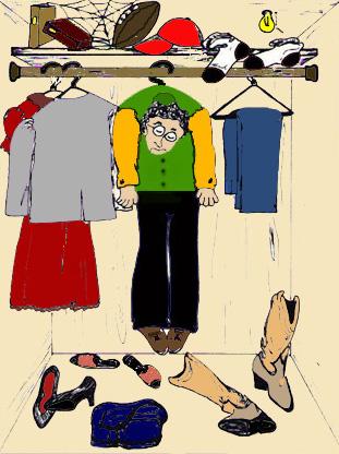 Is Your Closet a Hangup?